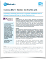 TT Electronics-IMS Kentec Electronics Success Story