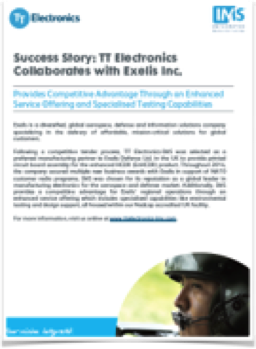 TT Electronics-IMS Exelis Success Story Thumb