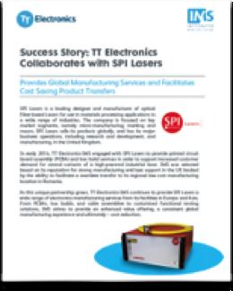 TT Electronics-IMS SPI Lasers Success Story Thumb